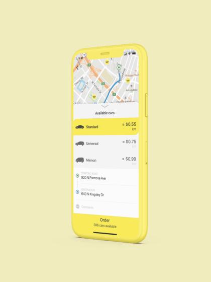 вызов такси приложение